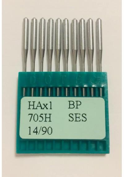 Бытовые швейные иглы Dotec HAx1, BP SES 705H 14/90 10 шт.
